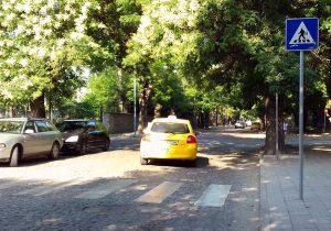 Нов тип пешеходни пътеки по паважните улици