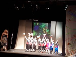 Празник в Кукления театър за деца от Район Източен-6