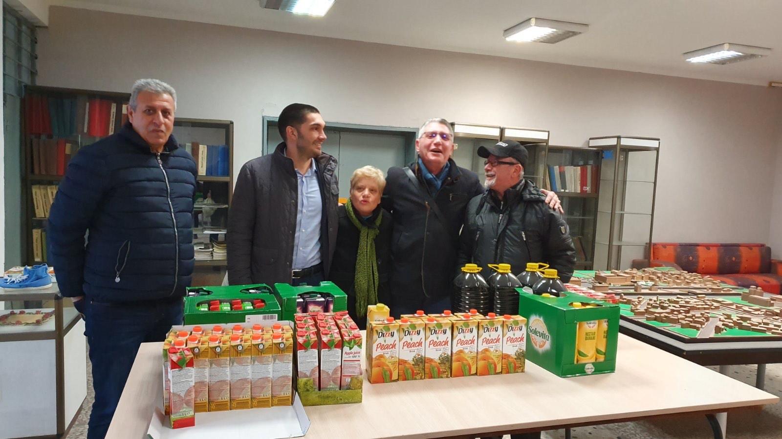 """В навечерието на Коледа Район """"Източен"""" и БЧК подпомогнаха социално слаби граждани"""