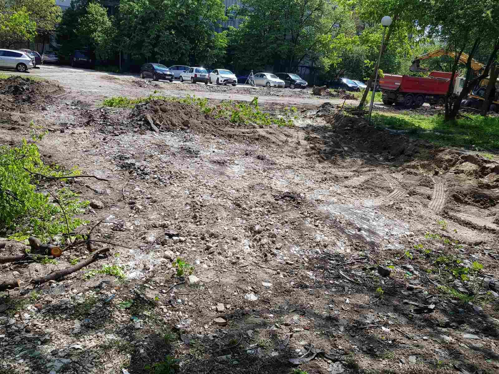"""Нов парк и паркинг за хората в """"Източен"""""""
