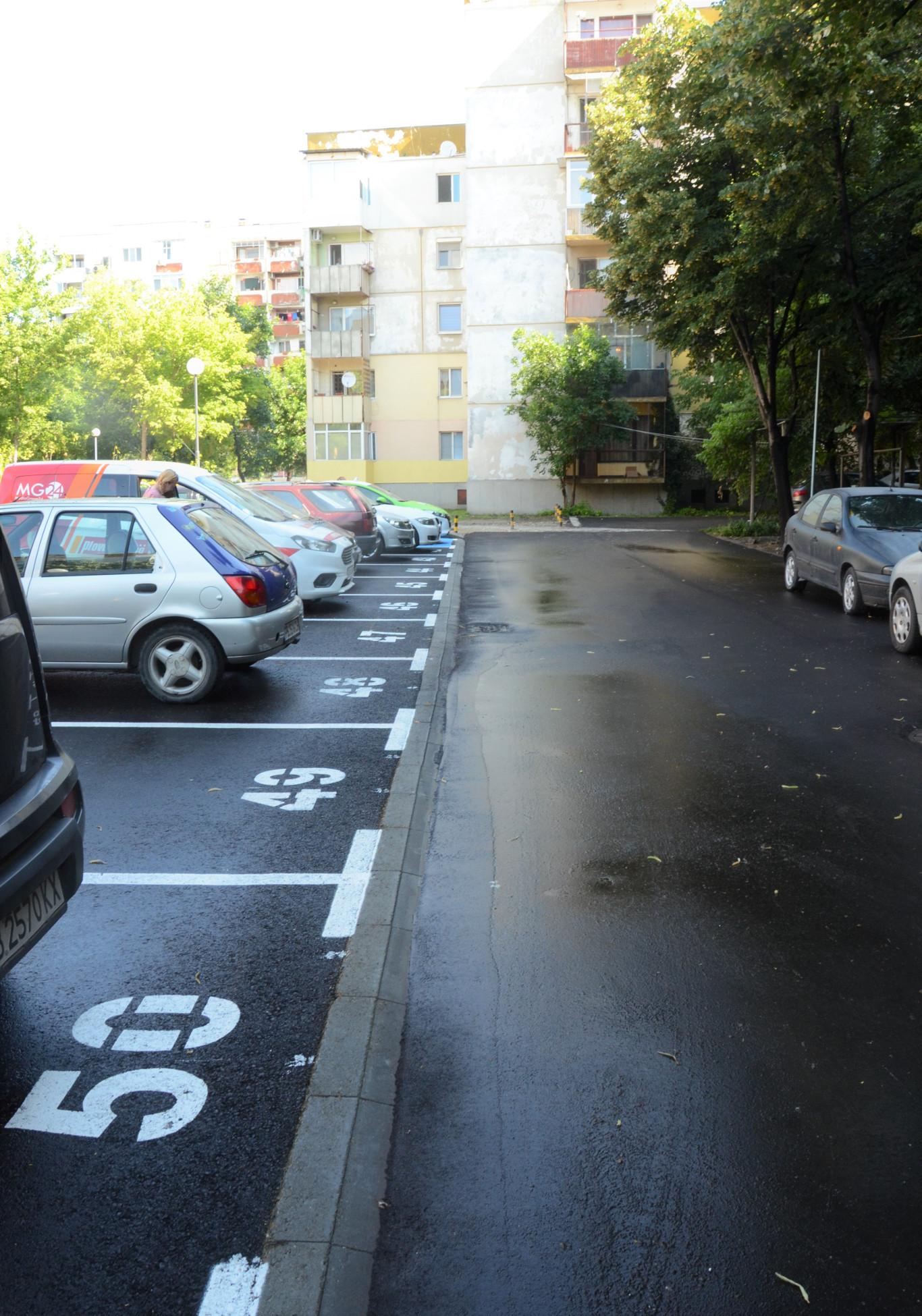 В район Източен откриха новоизграден паркинг и обновен парк-