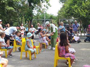 Куклен театър на открито в Парк Каменица